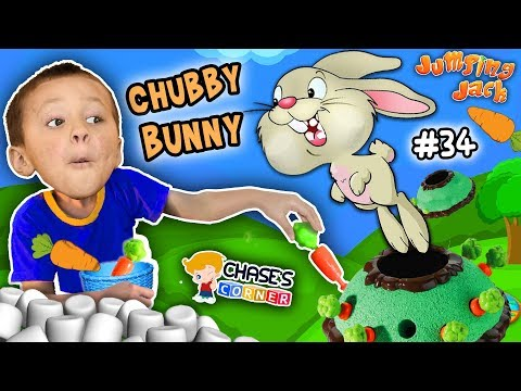 Chase's Corner: Chubby Bunny Challenge Game Jumping Jack (#34) | DOH MUCH FUN