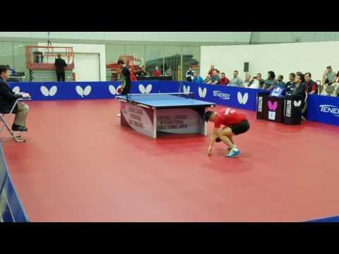 Thiago Farias Monteiro (2747) vs Bo Wen Chen (2575) - Open Singles (1/4)