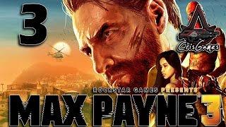 MAX PAYNE 3 - PC Gameplay - Walkthrough (ITA) #3 - Rapimento, riscatto e complotto