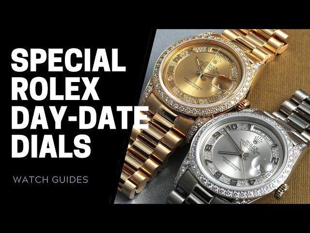 Special Rolex President Day-Date Dials: Stella, Anniversary Green, Glacier Blue, Diamond Dials