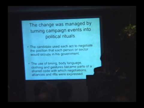Culture and Politics in Mexico: The Symbolism Behind Political Campaigns; Sept 6, 2006
