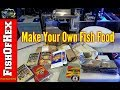 How To Make Your Own Fish Food & Save/Make Money