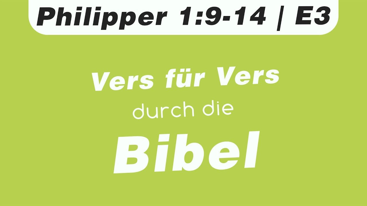 Philipper 1 9