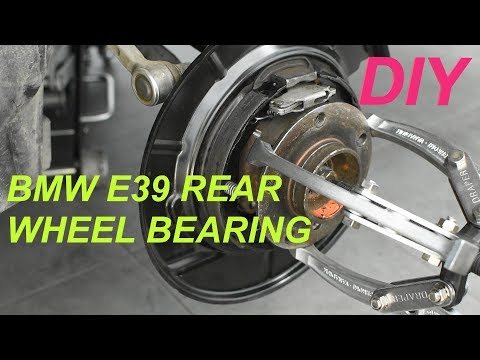 Rear wheel bearing replacement BMW E39