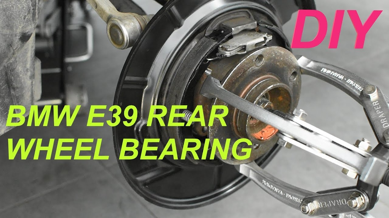 Rear Wheel Bearing Replacement Bmw E39 Youtube