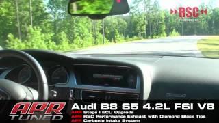 APR B8 S5 4.2L FSI V8 RSC Exhaust System