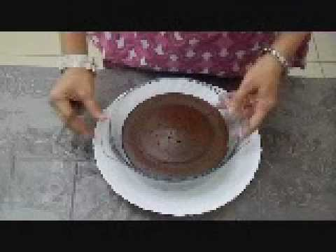 Recipe to make a cake in microwave