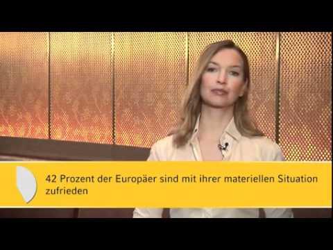 Sparen oder Ausgeben - Europäer wägen ab