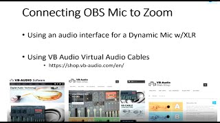 Use Your OBS Microphone Output For Zoom With VB Audio Virtual Cables - A Tutorial