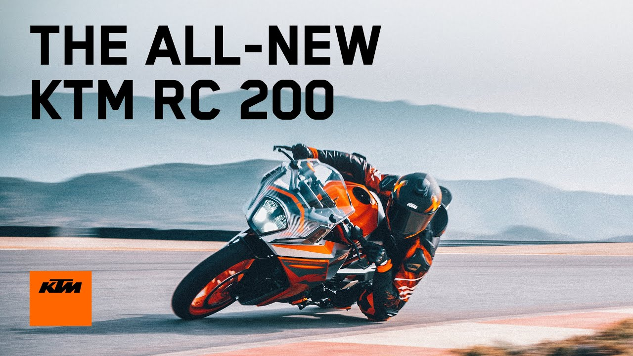 The ALL-NEW 2022 KTM RC 200 - Racetrack DNA for the Street | KTM India