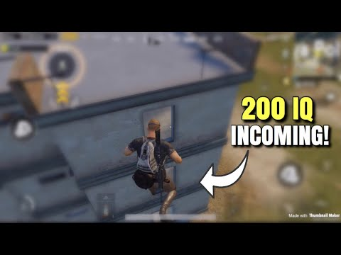 200IQ Plays | PUBG Mobile | Smart Plays!