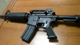 Краткий обзор п\а винтовки (карабина) NORINCO CQ-A, 5,56 NATO. версия М4