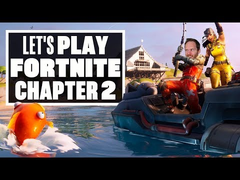Let's Play Fortnite Chapter 2