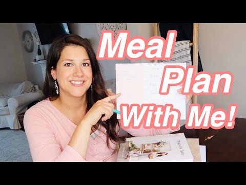 How to MEAL PLAN super easy!