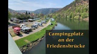 CAMPINGPLATZ an der Friedensbrücke: Wohnmobil Neckar Tour