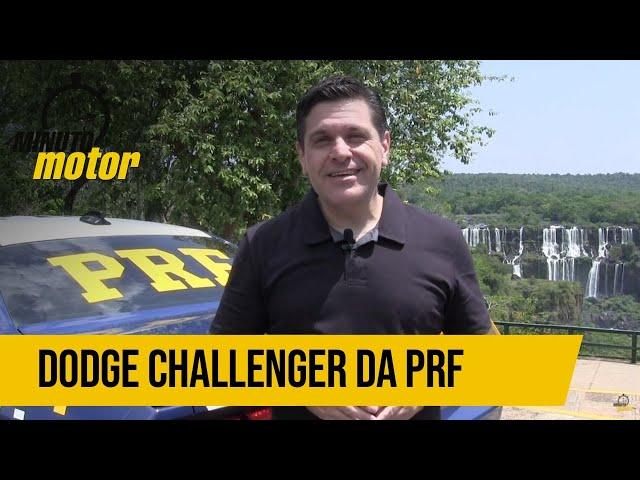 Dodge Challenger de 370 cavalos da PRF do Paraná