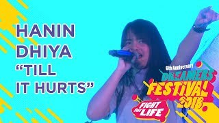 Gambar cover HANIN DHIYA - TILL IT HURTS (COVER) LIVE AT DREAMERS FESTIVAL 2018