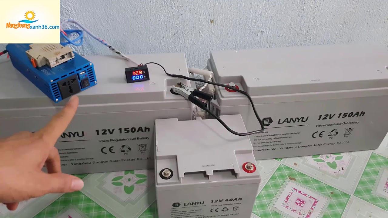 Bình viễn thông công nghệ GEL 12V 40AH 12V 100h 12v 150ah