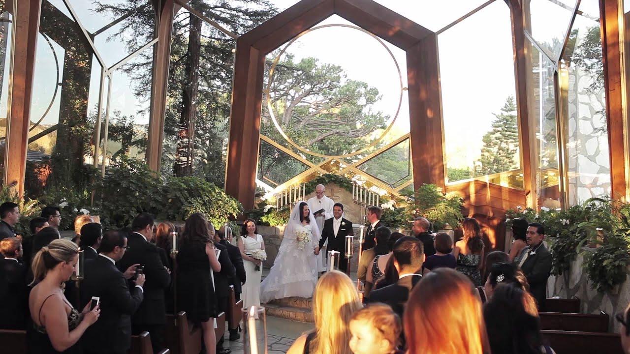 Wayfarers Chapel Wedding.Wayfarers Chapel Wedding Video Jaclyn Carlos