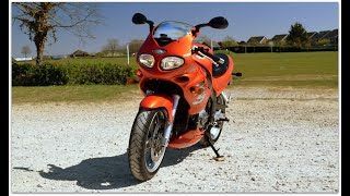 "(NOW SOLD) FOR SALE £2,350 - 2000 Triumph Sprint RS just 19,700 miles in GLORIOUS ""LUCIFER ORANGE"" ❤"