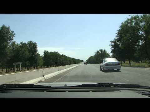 15. Tashkent to Samarkand, Uzbekistan Highway Road 2010 (HDTV 1080p)