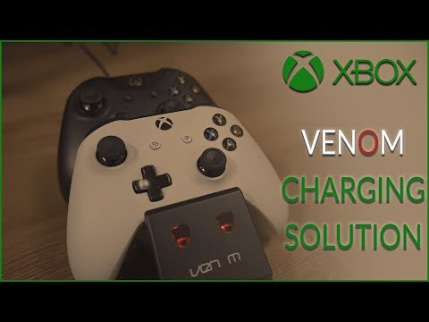 Solution For Xbox Users! Venom Xbox One Rechargeable Twin Docking Station