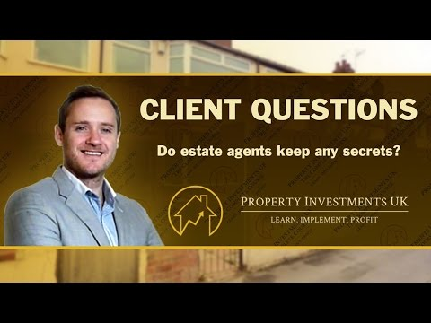 ⭕ Do Estate Agents Have Any Secrets?