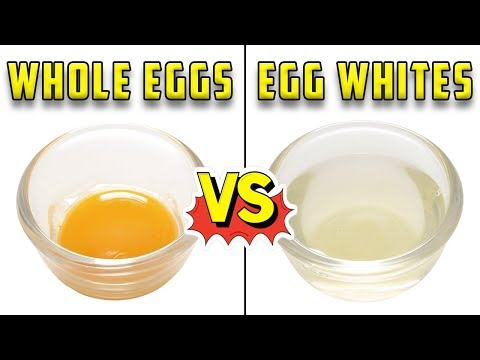 Whole Eggs vs Egg Whites (Which is best for you?)