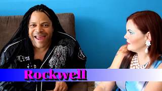 ROCKWELL Singer INTERVIEW Kennedy Gordy Motown Music - Somebody's Watching Me