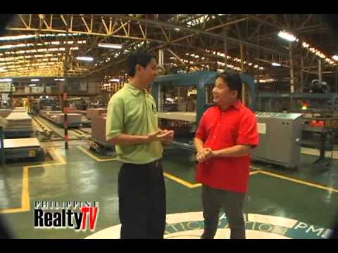 Philippine Realty Tv Features Mariwasa Tiles Youtube