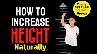 How to Grow Taller with 9 Simple Ways ? - For Kids, Men and Women