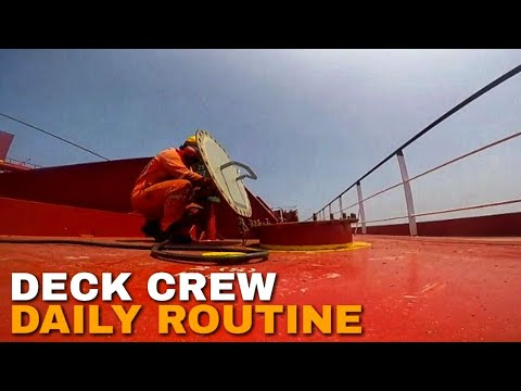 Deck Crew Daily Routine | Life At Sea  on a Tanker| Jan Aguirre Vlog