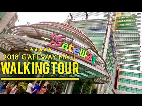 2018 Gateway Mall Walking Tour Overview Araneta Center Cubao