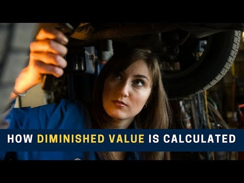 How Diminished Value Is Calculated