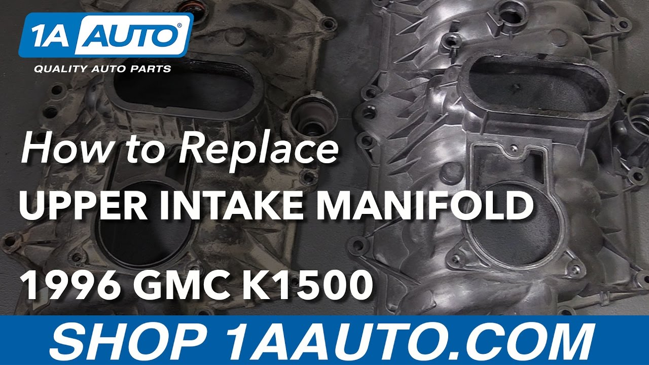 How To Install Replace Upper Intake Manifold 199699 V8 57l GMC. How To Install Replace Upper Intake Manifold 199699 V8 57l GMC Sierra K1500 1a Auto Parts. GM. Gm Parts Diagrams 1999 K1500 5 7 At Scoala.co