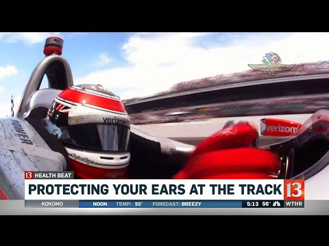 Hearing protection at the Indy 500