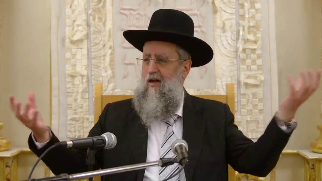 הרב דוד יוסף שליט״א בעל הלכה ברורה שיעור הלכות חנוכה בבית מדרש יחוה דעת