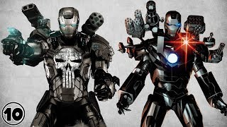 Top 10 Alternate Iron Man  War Machine Facts