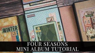 [Tutorial] Four Seasons Mini Album for Graphic 45 by Maria Smeshkova