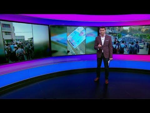 طلاب في غزة يتظاهرون لإرجاع مدير مدرستهم المحبوب  - 18:54-2019 / 9 / 18