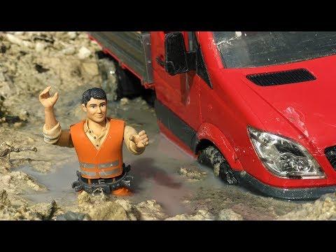 bruder-rc-truck-mud-stuck!
