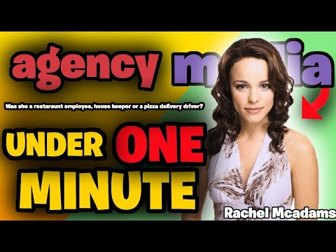 Rachel McAdams – under a minute. (Celebrity Jobs)