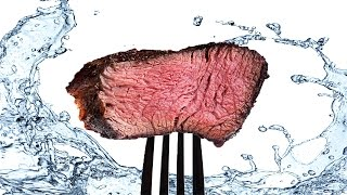 How Much Water Goes Into An 8 oz Steak?