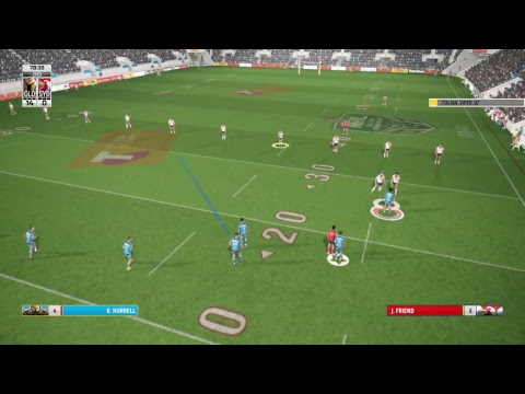 Rugby League Live 4 Titans Vs Roosters 1