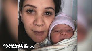 Esta joven dice que no sabía que estaba embarazada, lo dio en adopción y ahora lucha por recuperarlo
