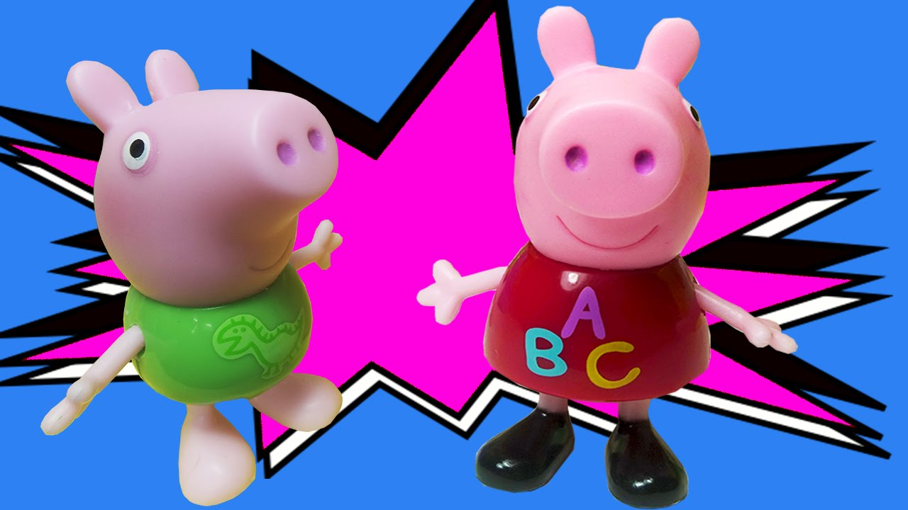 Peppa Pig George Sujos Na Lama Youtube