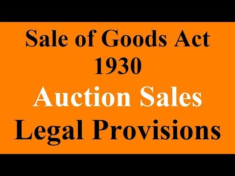 17 Legal Provison of Auction Sale