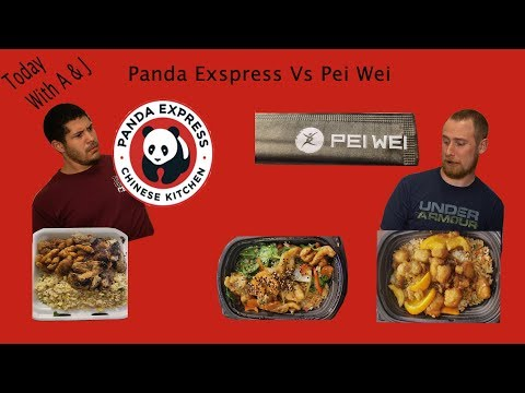 Pei Wei VS Pand Express Taste Test