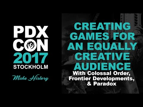 PDXCON 2017: Creating Games For An Equally Creative Community