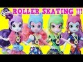 My Little Pony Equestria Girls Roller Skating Dolls MLP Episode Surprise Egg and Toy Collector SETC